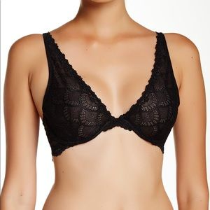 Free People NWT Intimately Free Lace Plunge Bra